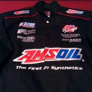 AMSOIL Racing Embroidered Medium Jacket • US Made